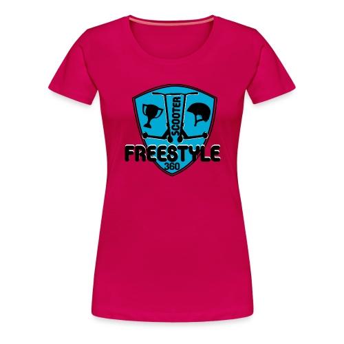 blason scooter freestyle 360 - T-shirt Premium Femme