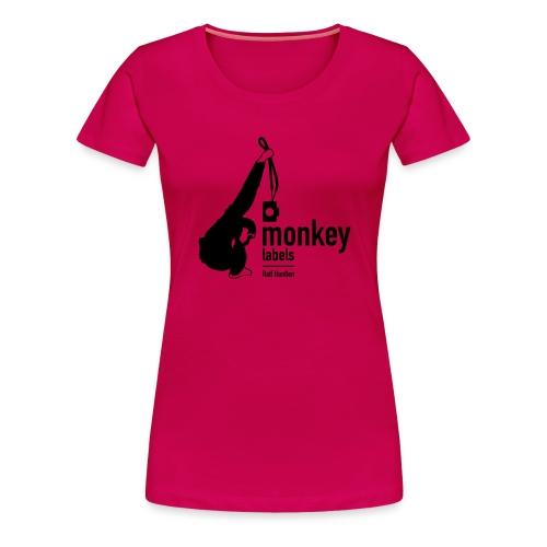 monkeylabels - Frauen Premium T-Shirt