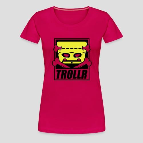 TROLLR origin - T-shirt Premium Femme