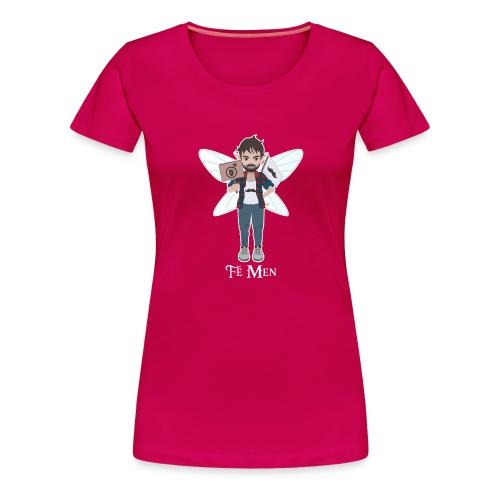 Fé Men - T-shirt Premium Femme