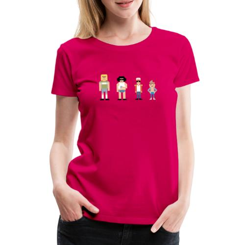 8bit - Vrouwen Premium T-shirt