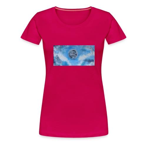 La lune dans tous ses etats - T-shirt Premium Femme