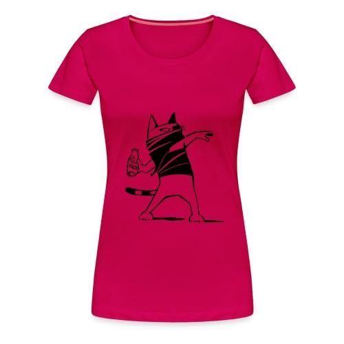 Katze against. - Frauen Premium T-Shirt