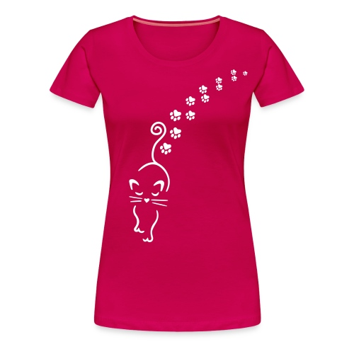 Vorschau: catwalk cat - Frauen Premium T-Shirt
