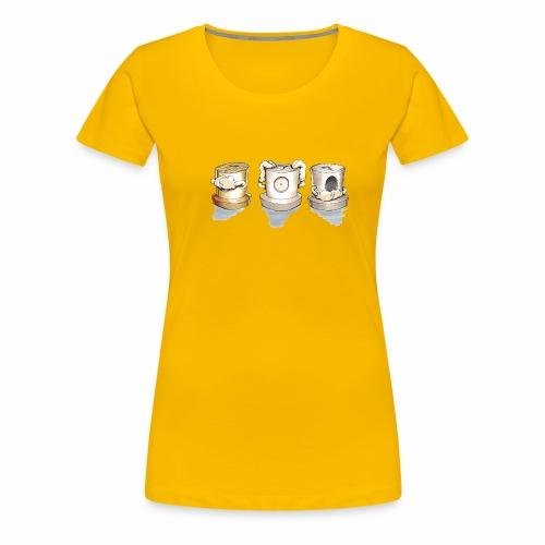 Dont Rasmus Balstrøm colors - Dame premium T-shirt