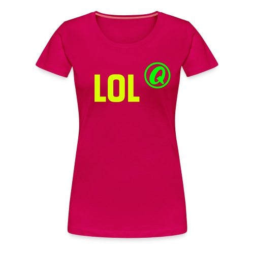 QB Spreadshirt Vektoren 2c 15 - Frauen Premium T-Shirt