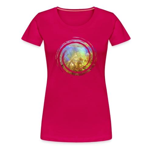 Opal Spirale - Frauen Premium T-Shirt
