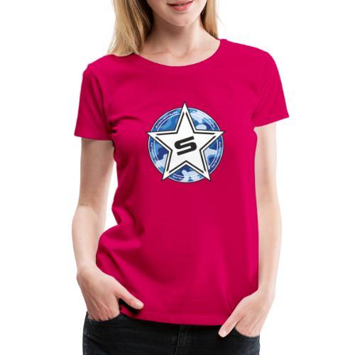 Camo Edition blue - Frauen Premium T-Shirt