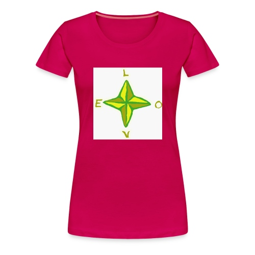 love in all directions - Frauen Premium T-Shirt