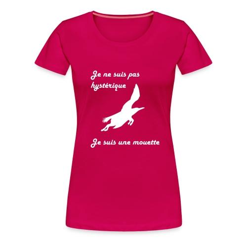 mouette cheval - T-shirt Premium Femme