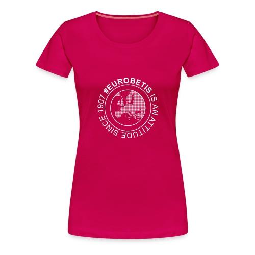 eurobetisok - Camiseta premium mujer
