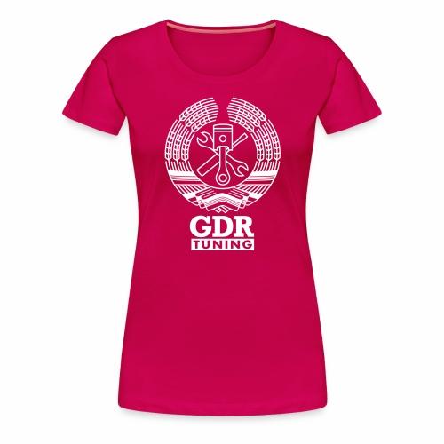 GDR Tuning Coat of Arms 1c - Women's Premium T-Shirt