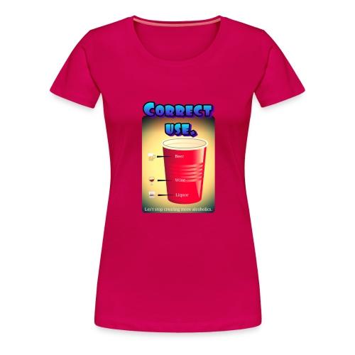 redcup-err - Camiseta premium mujer