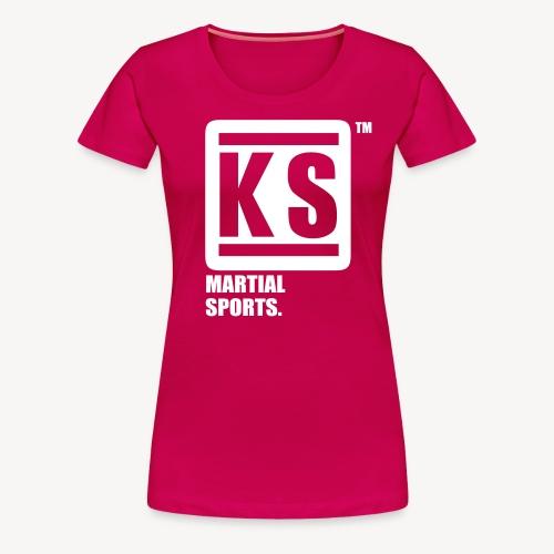 ks martial sport - T-shirt Premium Femme