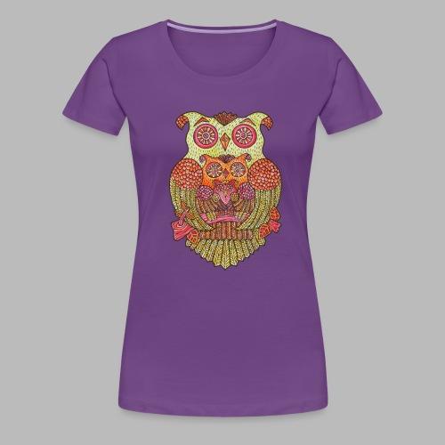 Owl Family - Women's Premium T-Shirt