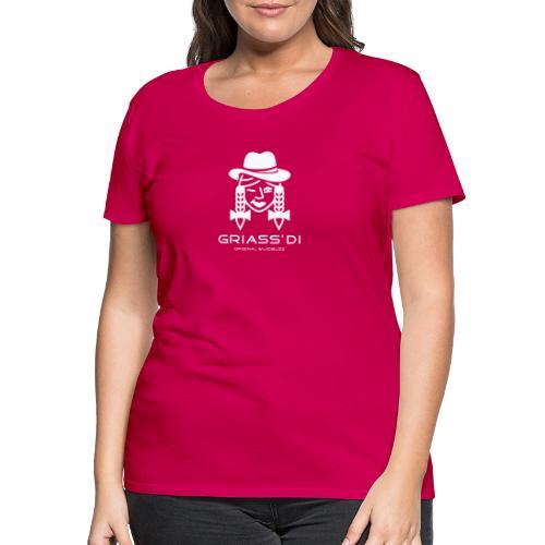WUIDBUZZ   Griass di   Frauensache - Frauen Premium T-Shirt