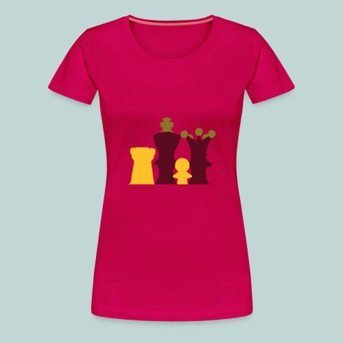 Figurengruppe 3Farben - Frauen Premium T-Shirt