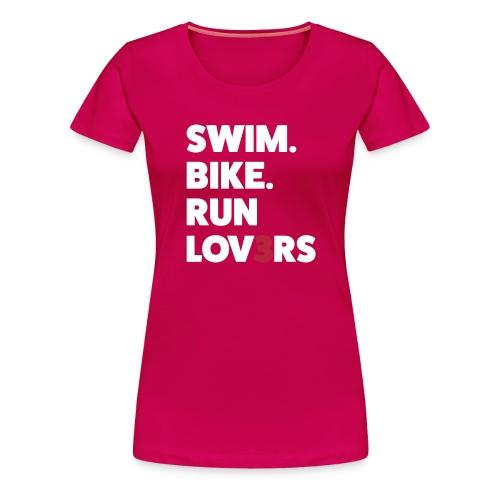 runlov3rs - Maglietta Premium da donna