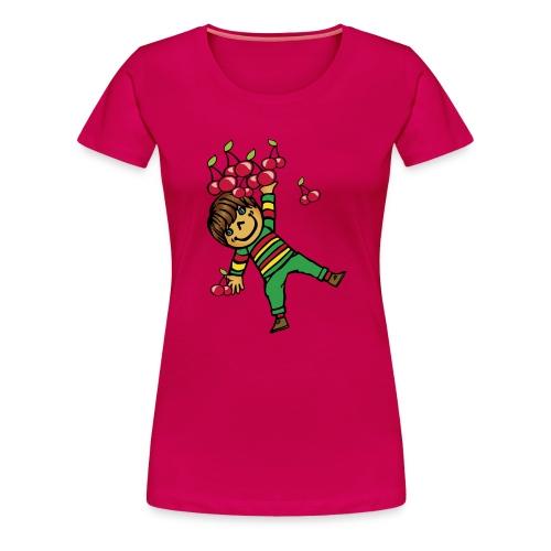 08 kinder kapuzenpullover hinten - Frauen Premium T-Shirt