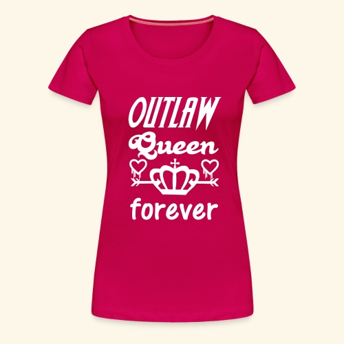 OutlawQueen Once Upon A Time Shirts - Women's Premium T-Shirt