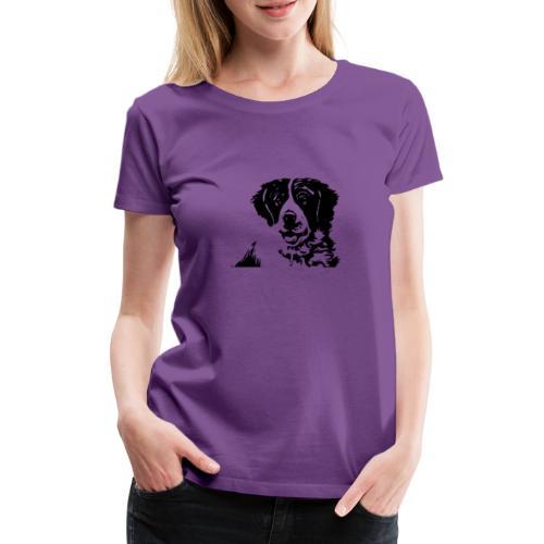 Barry - St-Bernard dog - Frauen Premium T-Shirt