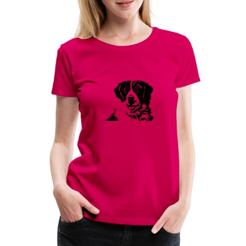 Barry - St-Bernard dog - Frauen Premium T-Shirt