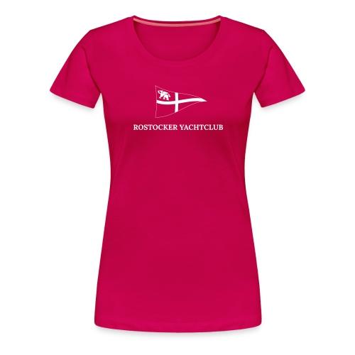 ROYC Logo einfarbig mit Schriftzug - Frauen Premium T-Shirt