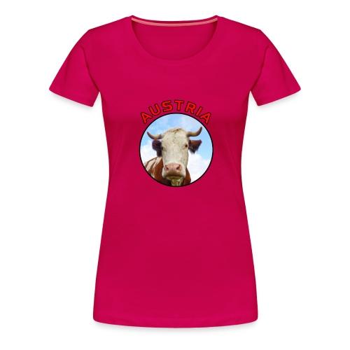 AustriaKuh png - Frauen Premium T-Shirt