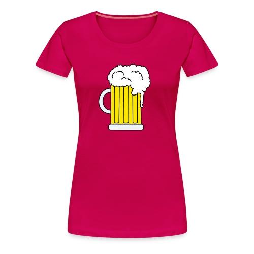Bierkrug - Frauen Premium T-Shirt