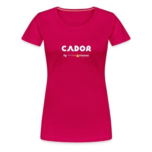 TshirtCador03 png - T-shirt Premium Femme