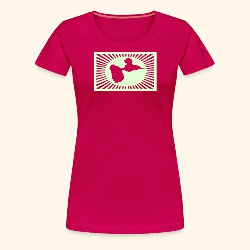 GUADELOUPEsunshine - T-shirt Premium Femme