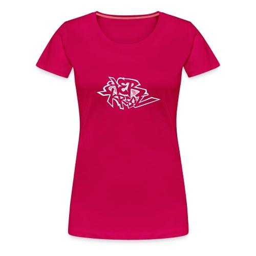 Tag ker kreol Blanc - T-shirt Premium Femme
