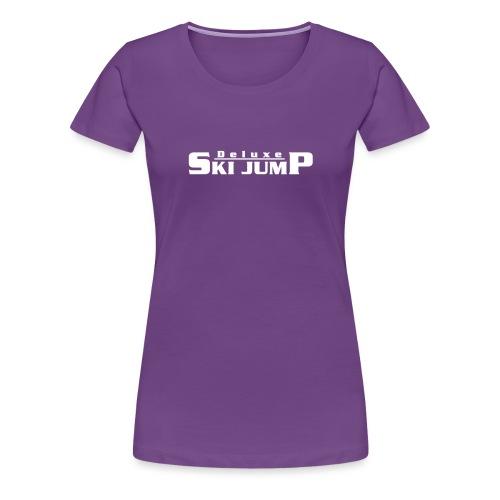 Deluxe Ski Jump - Women's Premium T-Shirt