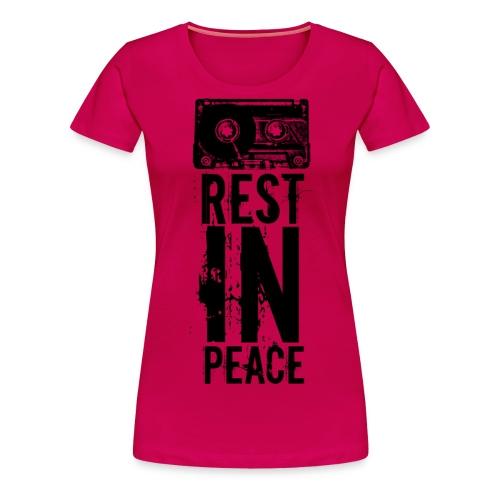 cassette - Frauen Premium T-Shirt