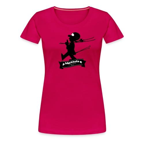 Mørkholla freeriders - Premium T-skjorte for kvinner