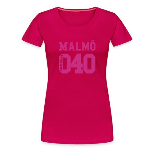 malmoe 040 20 - Premium-T-shirt dam