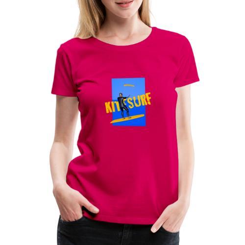 KITESURF HOMME - T-shirt Premium Femme