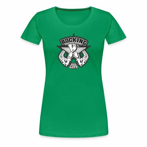 rocking copenhagen 2wear since 00 ver01 - Dame premium T-shirt