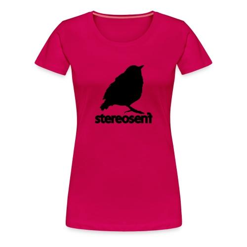stereosenflogo 1 - Frauen Premium T-Shirt