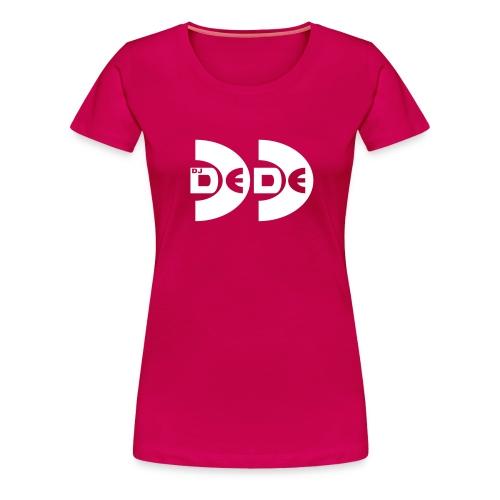 DeDe Logo - Frauen Premium T-Shirt