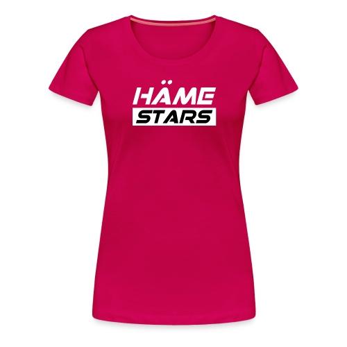 Häme Stars - Naisten premium t-paita
