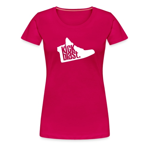 kickblast classic logo wh - T-shirt Premium Femme