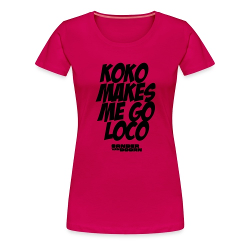 koko design - Women's Premium T-Shirt