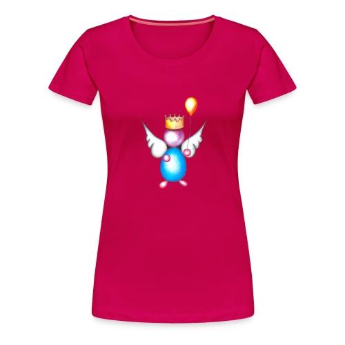 Mettalic Angel happiness - T-shirt Premium Femme