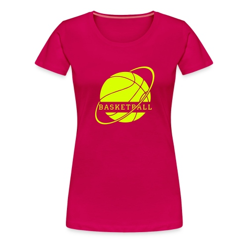 basketball - T-shirt Premium Femme