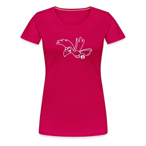 Rabe - Crow - Frauen Premium T-Shirt