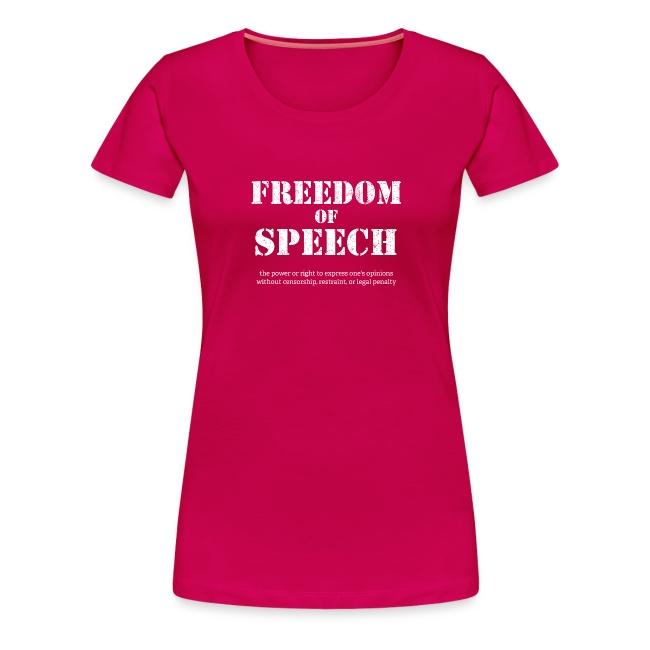 Freedom of speech - wolność słowa