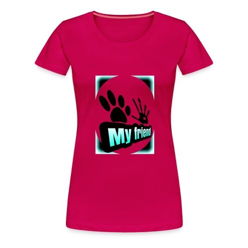 friend dog-err - Camiseta premium mujer