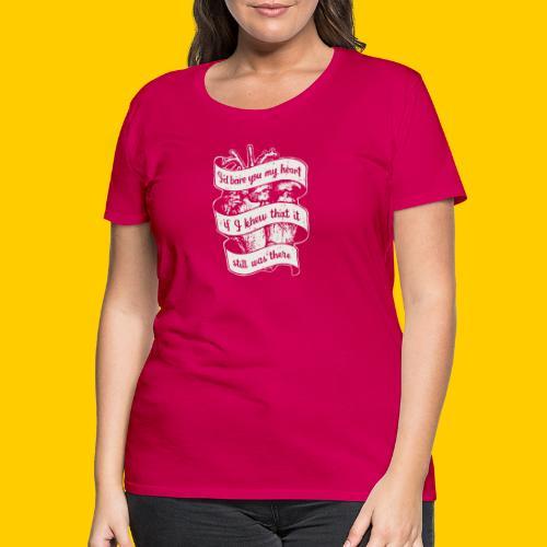 Lost heart (A tribute to The Dear Hunter) - Premium-T-shirt dam