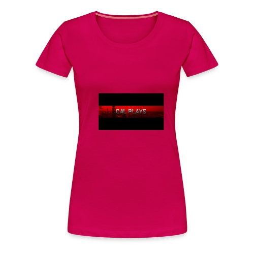 Cal Plays merchandise - Women's Premium T-Shirt